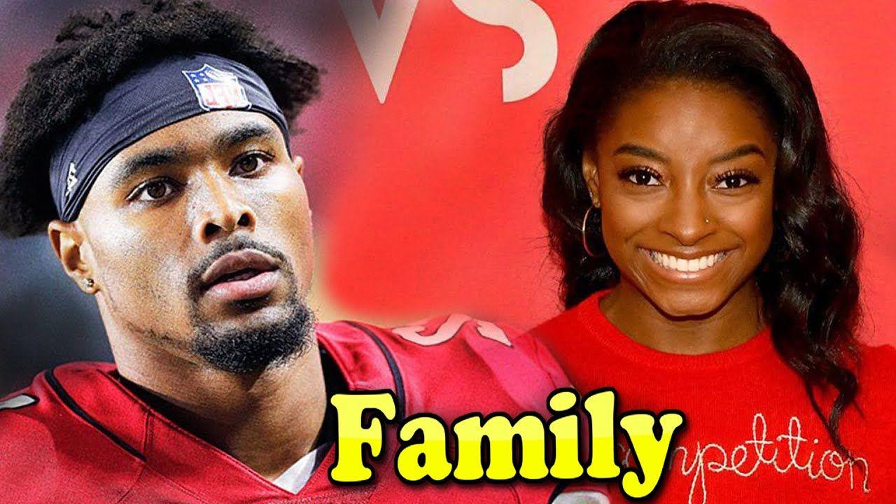 Jonathan Owens Family With Girlfriend Simone Biles 2020 In 2020 Simone Biles Famous Sports Girlfriends