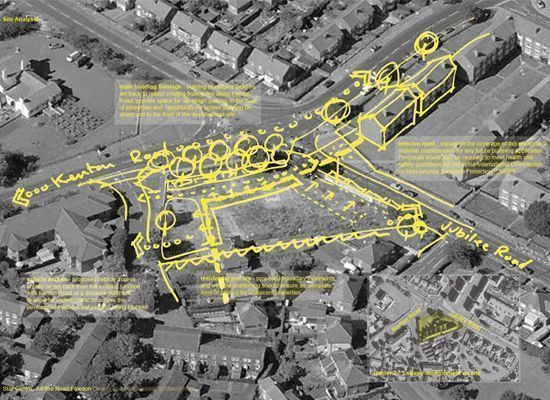 Urban Design Map Sustainable Architecture