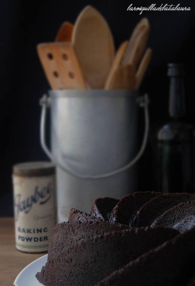 La Rosquilla de la Tia Laura: BUNDT CAKE DE CERVEZA TOSTADA Y CHOCOLATE (Toasted beer bundt cake)