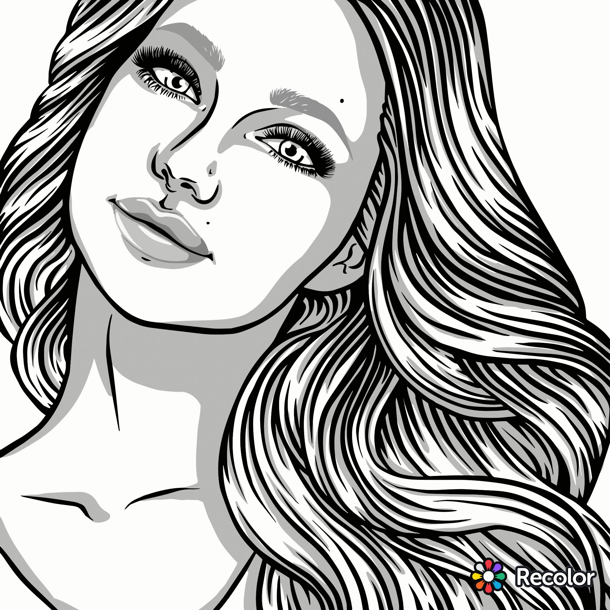 Pin By Amyjo Vanduyn On Coloring Human Drawing Adult Coloring