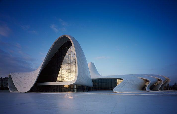 The Heydar Aliyev Center By Zaha Hadid Architects In Baku Azerbaijan Yatzer Zaha Hadid Design Zaha Hadid Zaha Hadid Architecture