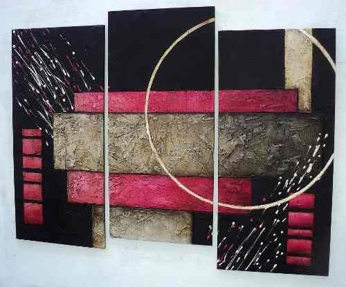 Cuadros abstractos con texturas y alto relieve ert - Cuadros con texturas abstractos ...