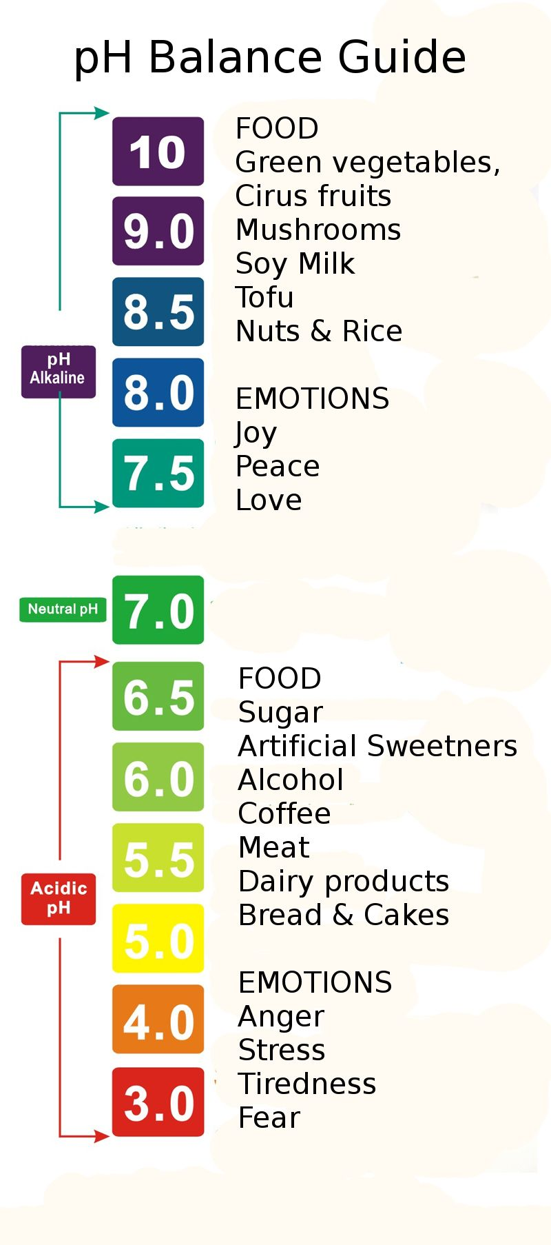 ph level chart for drinks: Pin by proactive health labs on ph balance pinterest ph ph