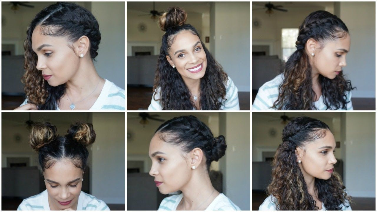 Natural Hair: 10 EASY CURLY Hairstyles PERFECT for SPRING  Curly