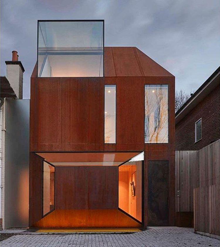 The Corten House By Eldridge Architecture In London Arcfly