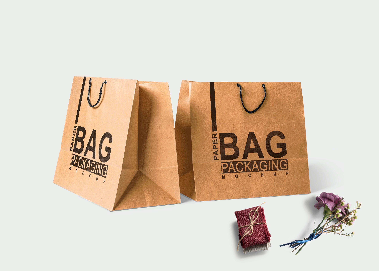 Download Free Horizontal Shopping Bag Mock Up Mockup Free Psd Mockup Logo Mockup
