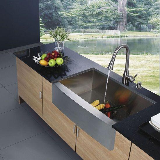 farm kitchen sink stainless steel