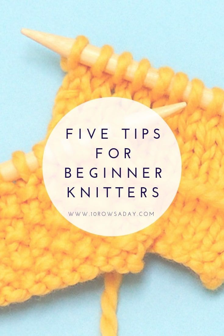 Photo of Five Tips for Beginner Knitters | 10 rows a day – #Beginner #day #knitters #Rows…