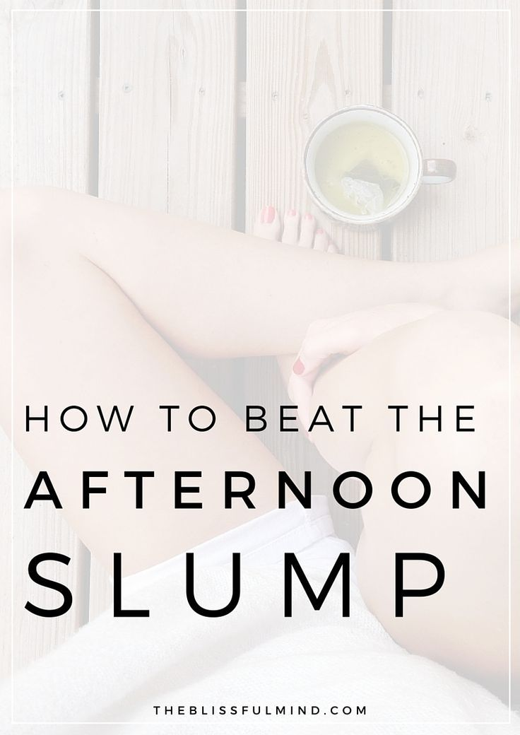 Beat the afternoon slump with these 7 tips! #ReviveMyDay | via The Blissful Mind