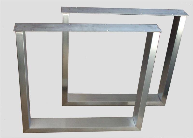Kufengestell Edelstahl Serlag Gmbh Tischplatten Stehtische Sonnenschirme Logotischplatten Gastronomie Ersatz Tisch Tischuntergestell Tischgestell