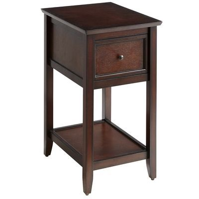 ashington mahogany brown end table music rooms side 11510 | 8444a7a529928b7c4cc62689367bede7