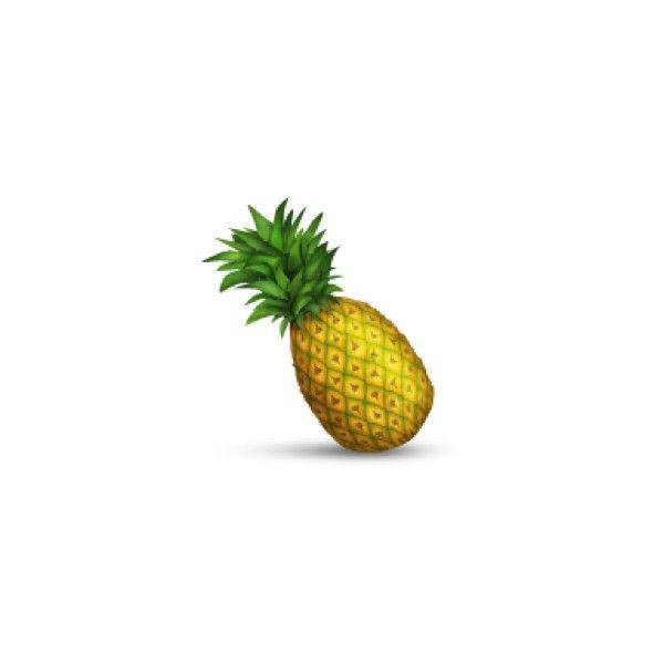 Pineapple Pineapple Emoji Pineapple Pineapple Lovers