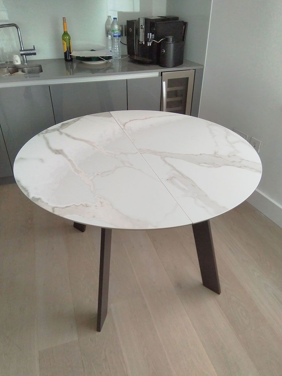 Moon Dining Table Round Extendable Dining Table Dining Table