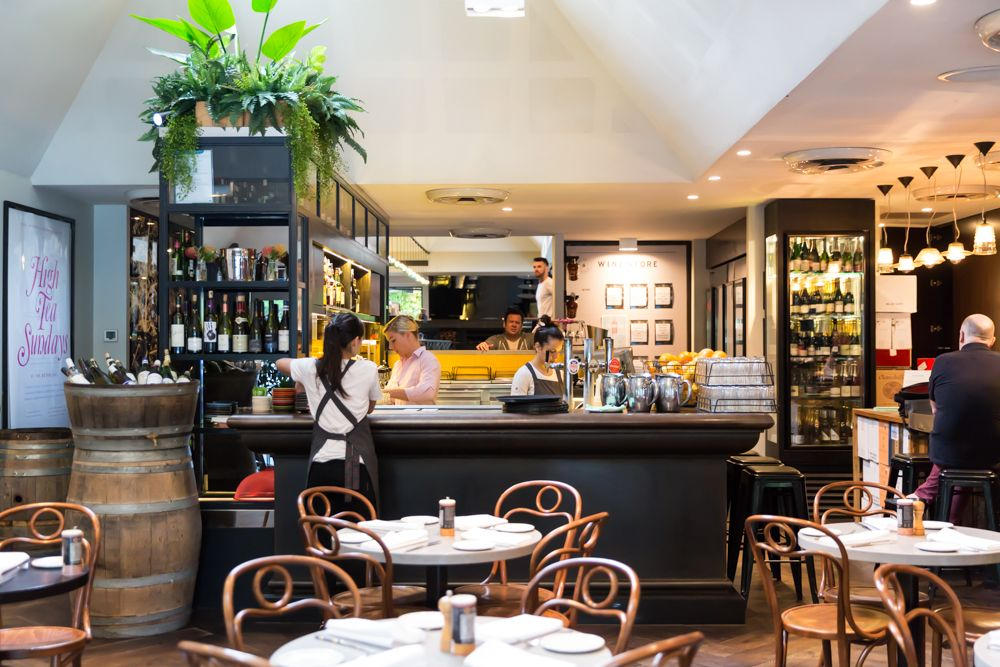 Casual Bistro Dining South Yarra, Melbourne   The Botanical