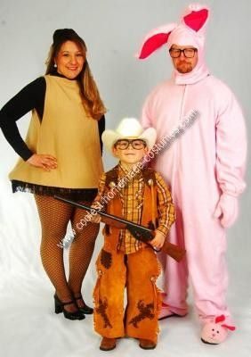Coolest Home Made Christmas Story Group Costumes | Costumes ...