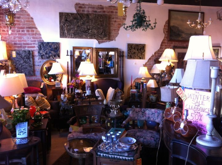 Fifteen Ten Antiques- Cool consignment store on Central Ave