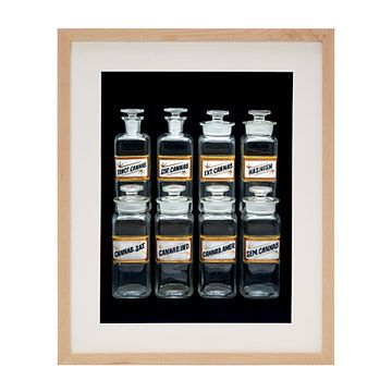 Look what I found at UncommonGoods: Cannabis Apothecary Jars for $150 #uncommongoods