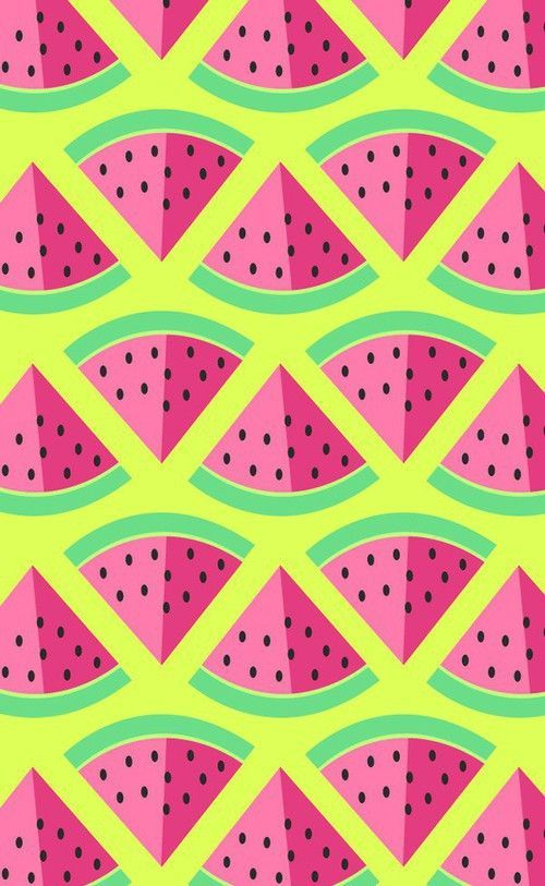 Watermelon Pattern Illustration Watermelon Summer
