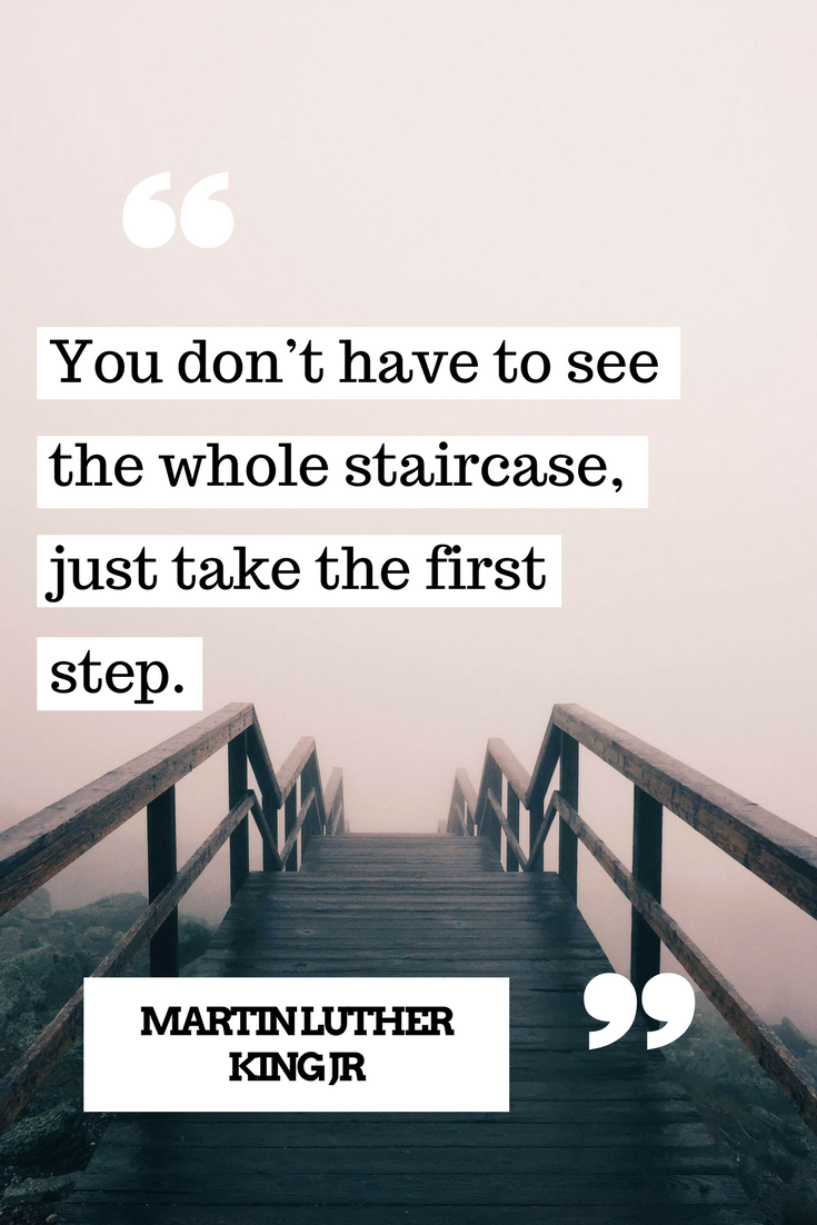 One Step At A Time Motivation Pinterest Quotes Inspirational