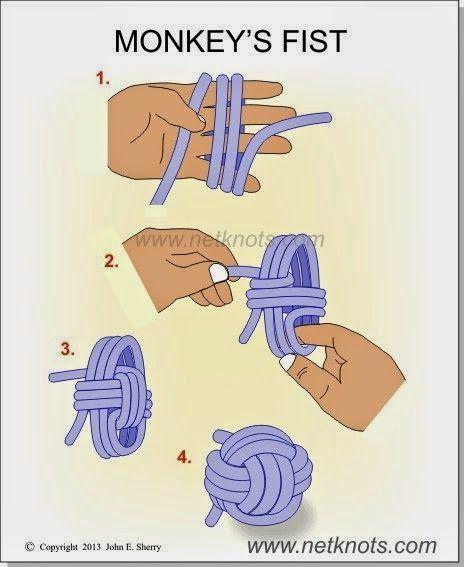 Nudo puño o Monkey Knot / Muy Gaby #ropeknots