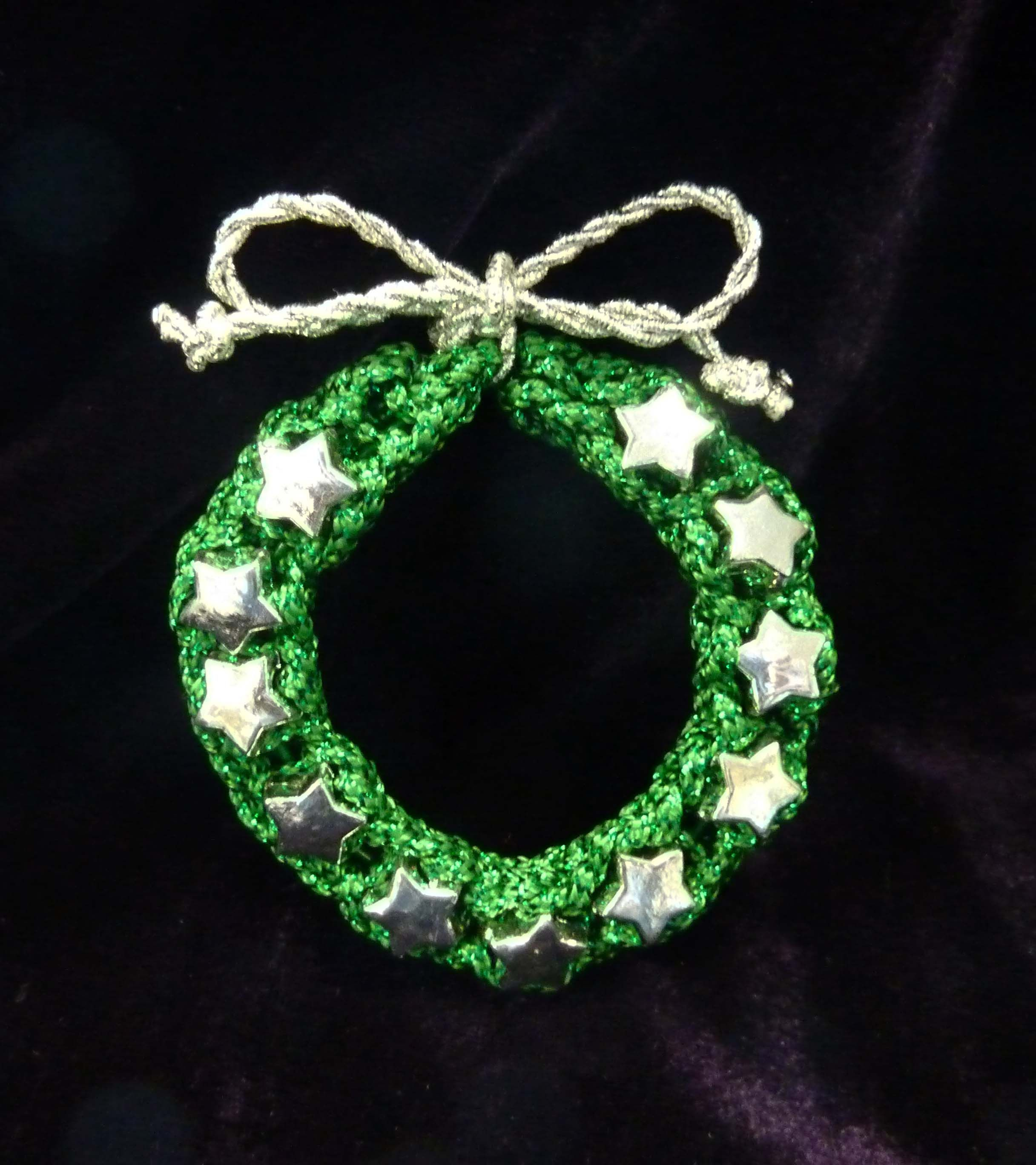 Loom Knit Christmas Ornaments Part - 21: Holiday French Knitter Ornaments