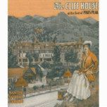 The Cliff House & Pikes Peak Poster | Zazzle.com #manitousprings Manitou Springs, Colorado - The Cliff House & Pikes Peak - Manitou Springs, CO  was created in 1917. This image depicts scenes from Manitou Springs, CO. #manitousprings