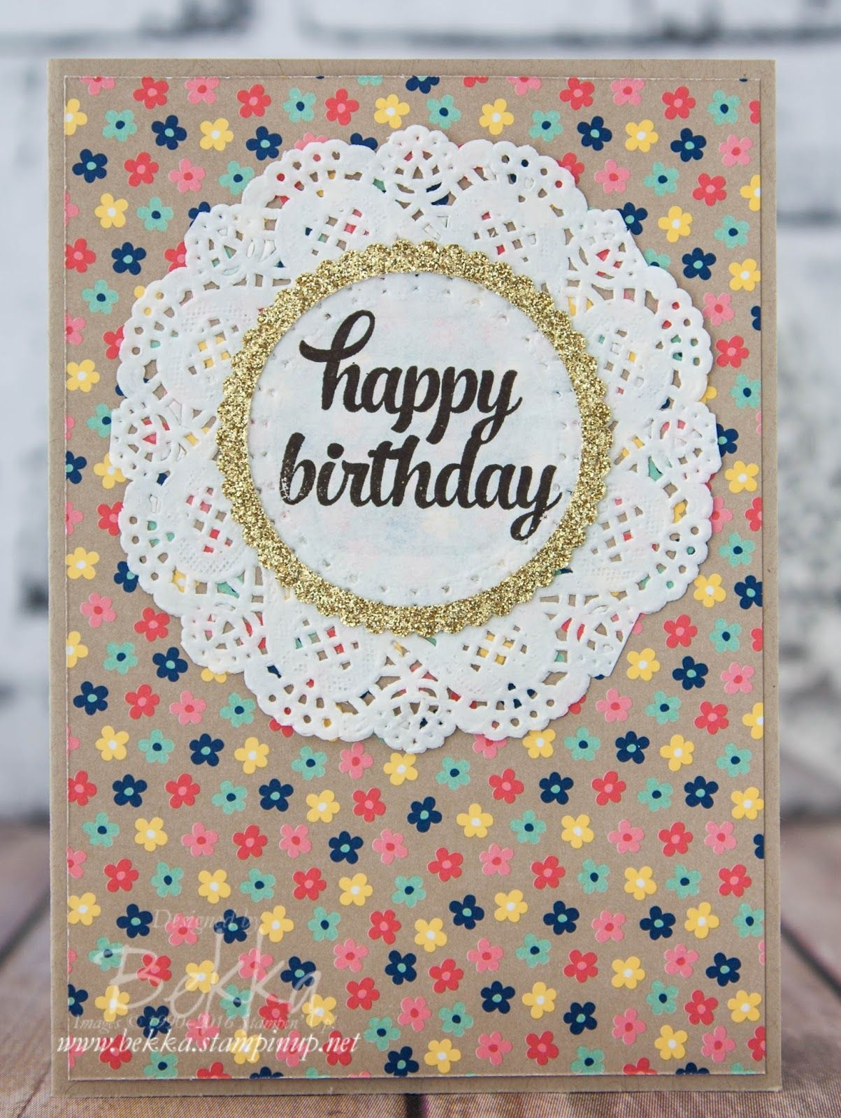 How To Make 6 Birthday Cards From A Single Sheet Of 12x12 Patterned