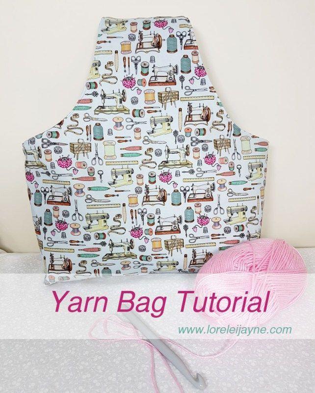 Yarn Bag Tutorial