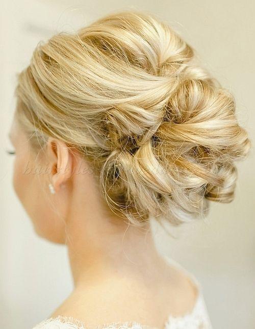 Chignonweddinghairstyleslowbunweddinghairstyleslowbun - Bridesmaid hairstyle bun
