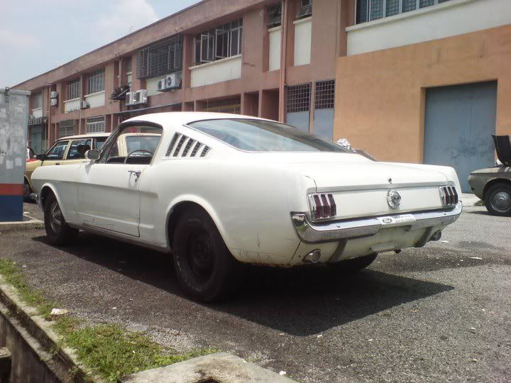 Old Ford Mustang Fastback In Malaysia Mustang Fastback Mustang Old Fords