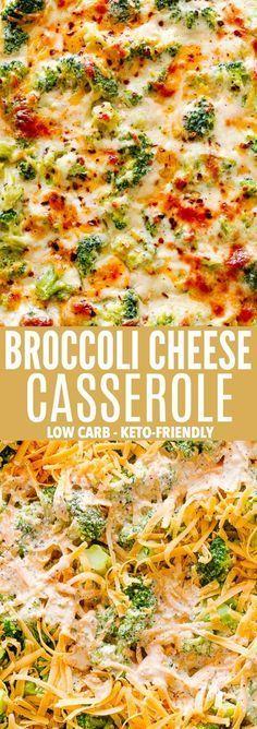 Broccoli Cheese Casserole | Low Carb & Keto-Friendly Recipe