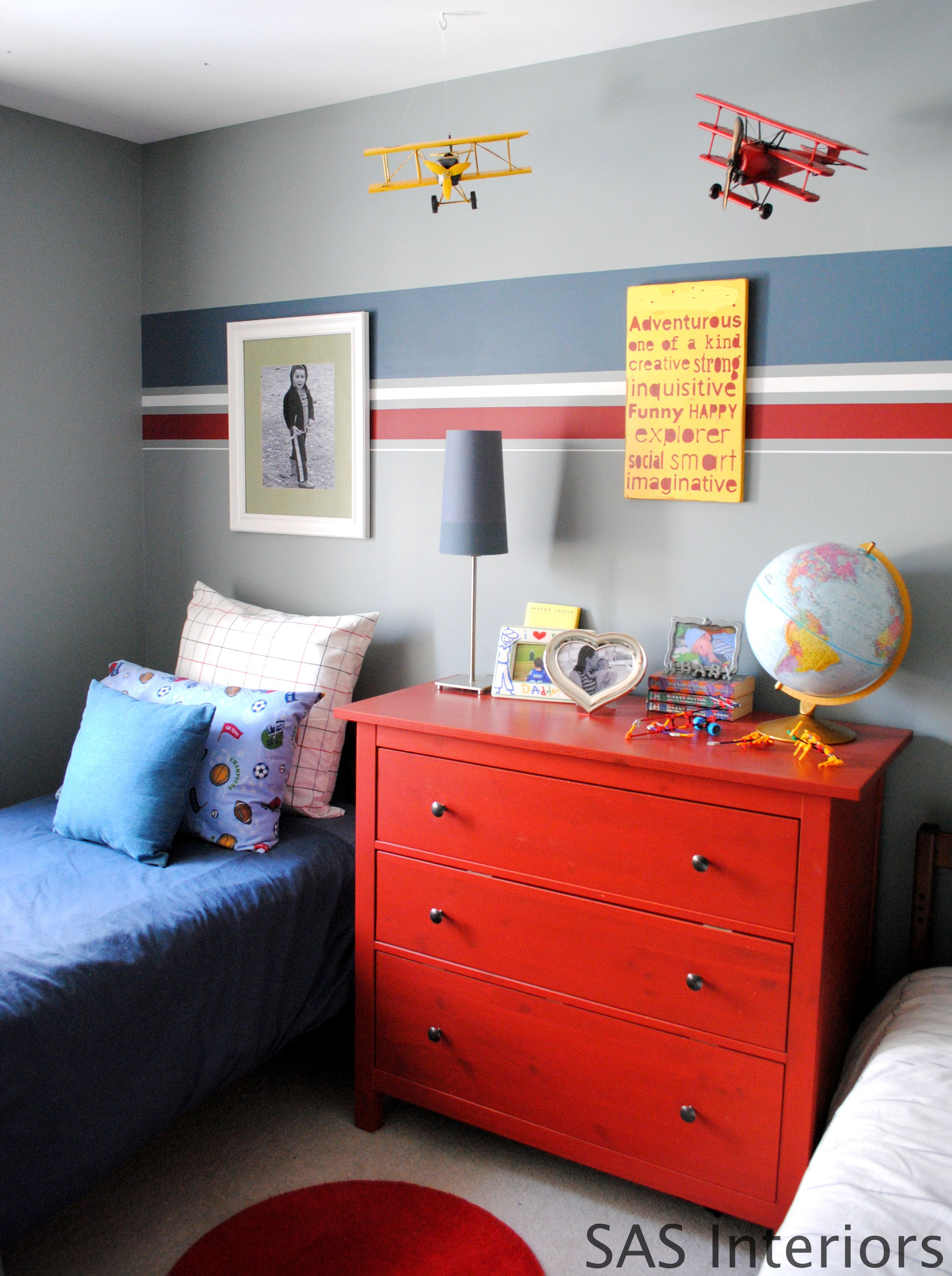 Kids Room- DIY: How To Paint Stripes and Product Review of U-Stripe ...
