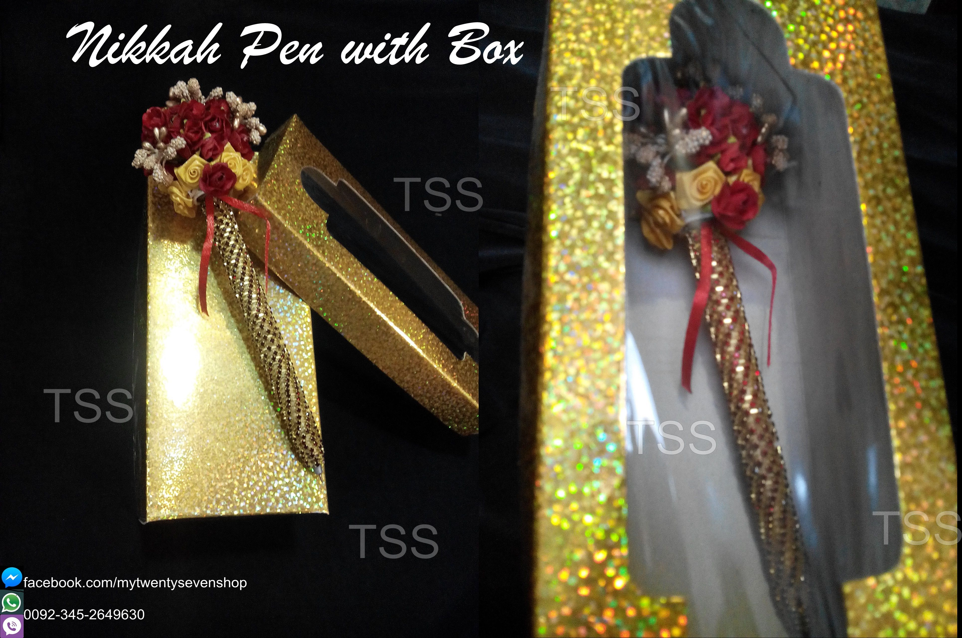 Now Introducing Nikkah Pen with Boxes ) For Orders