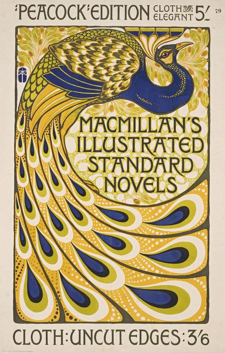 Art Nouveau Poster | Peacocks | Pinterest