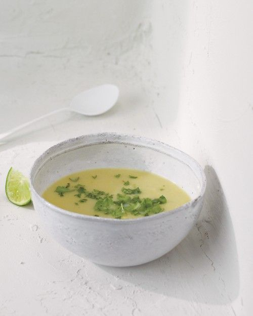 Cooling Foods: Creamy Summer Squash Soup, Wholeliving.com