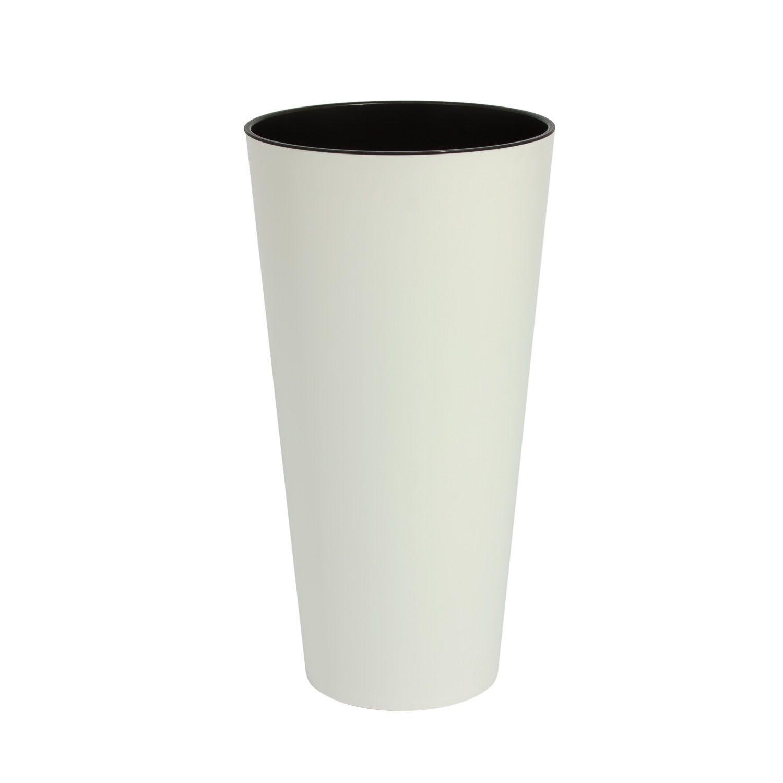 Blumentopf-Blumenkuebel-inkl-Einsatz-rund-Kunststoff-matt-Vase ...
