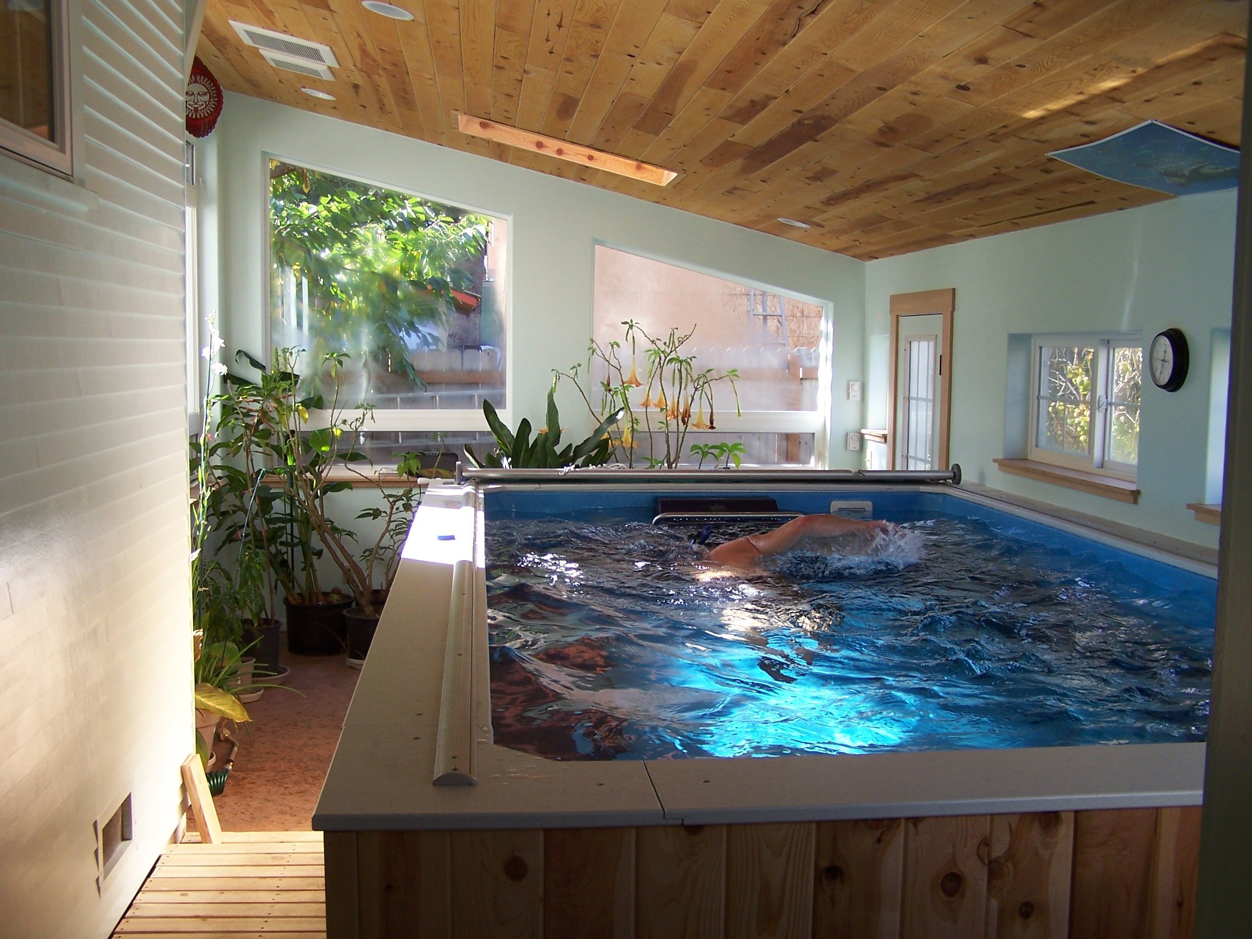 Swimming Pools Indoor Exercise Pool Endless Pool Swim Spa Indoor Pool