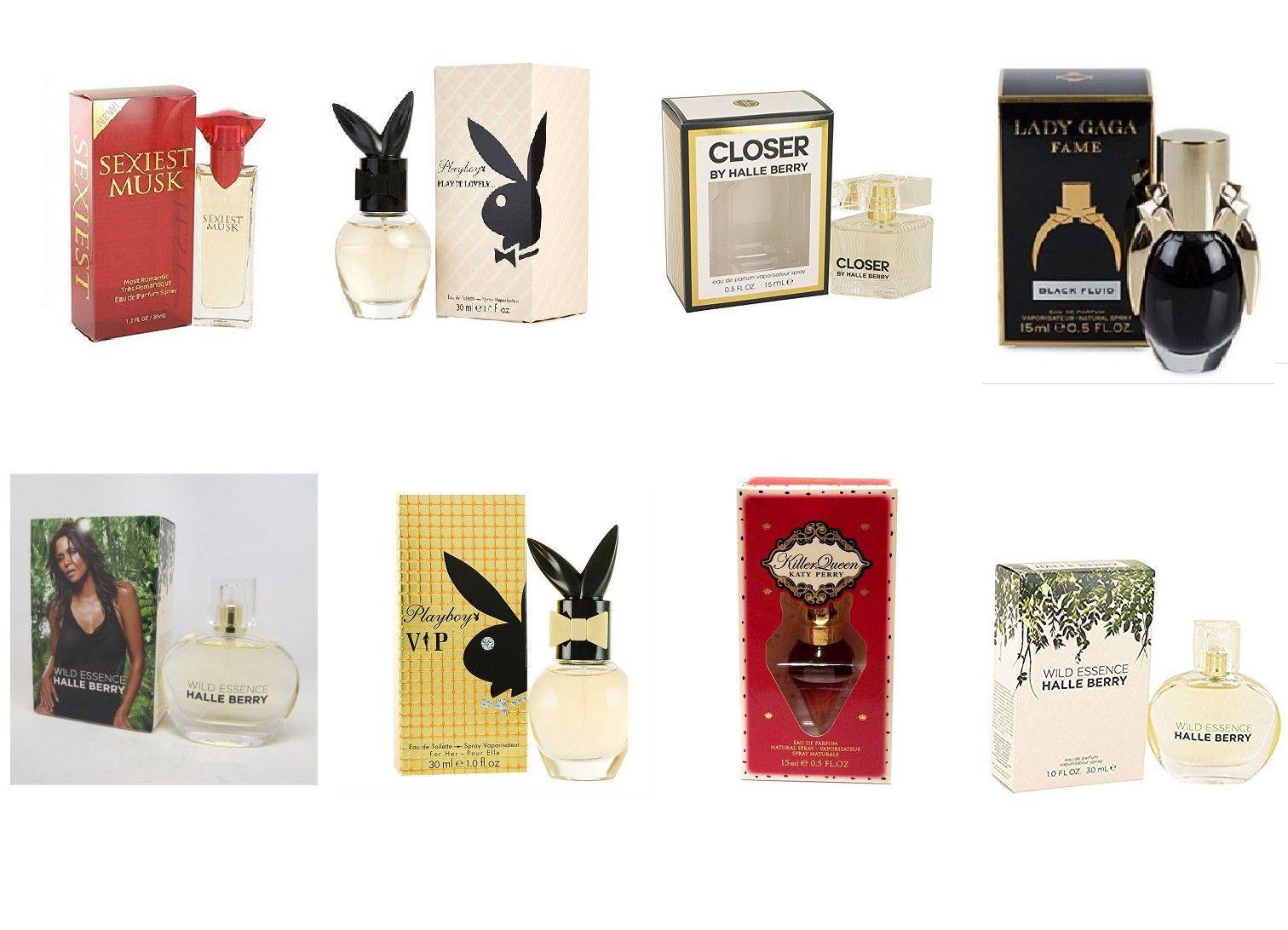 Women Perfumes Halle Berry, Lady Gaga, Katy Perry, Playboy Choose Ur ...