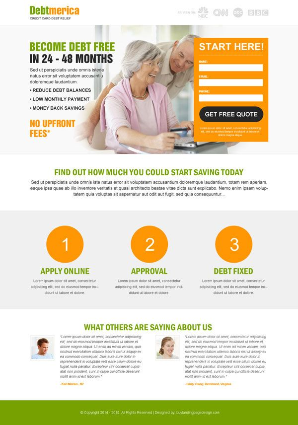 Top 20 Debt Landing Page Design For Your Debt Relief Business Conversion From Https Www Buylandingpa Debt Relief Programs Credit Card Debt Relief Debt Relief