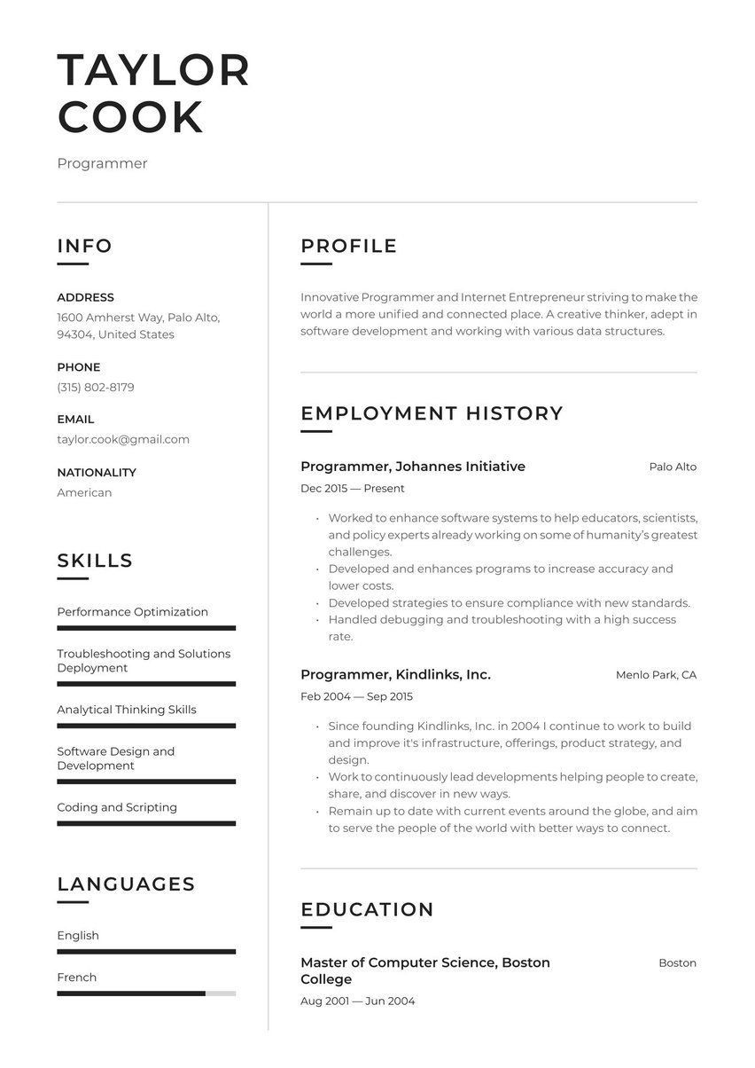 Create Your Job Winning Resume · Resume.io in 2020