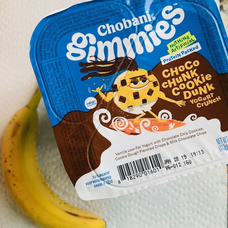 Chobani Gimmies are now available at Walmart! Cookies