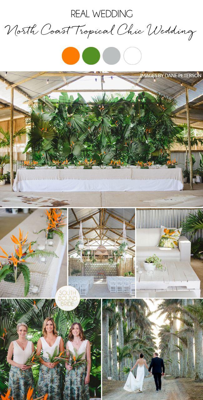 Durban North Coast Tropical Chic Wedding at Burndale by Oh ...