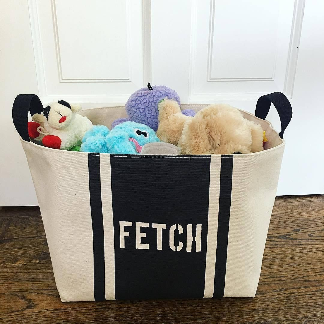 Fetch Dog Toy Basket Dog Toy Storage Dog Toy Basket Toy