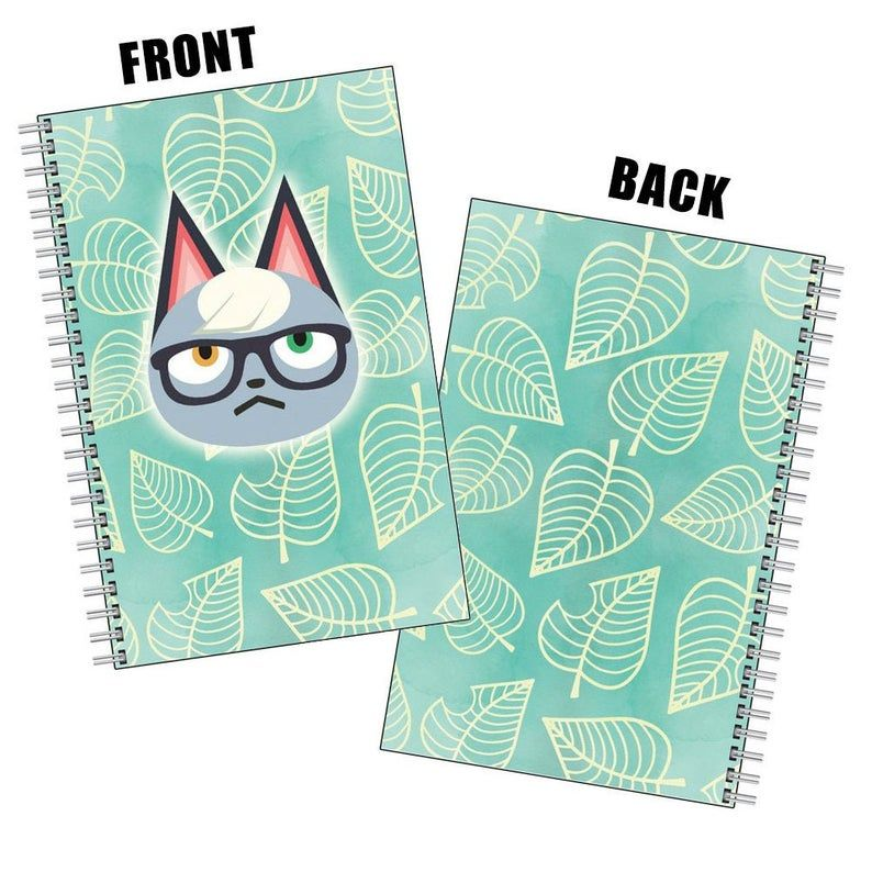 Animal Crossing Raymond Notebook Drawing Book Etsy Notebook Drawing Animal Crossing Drawings