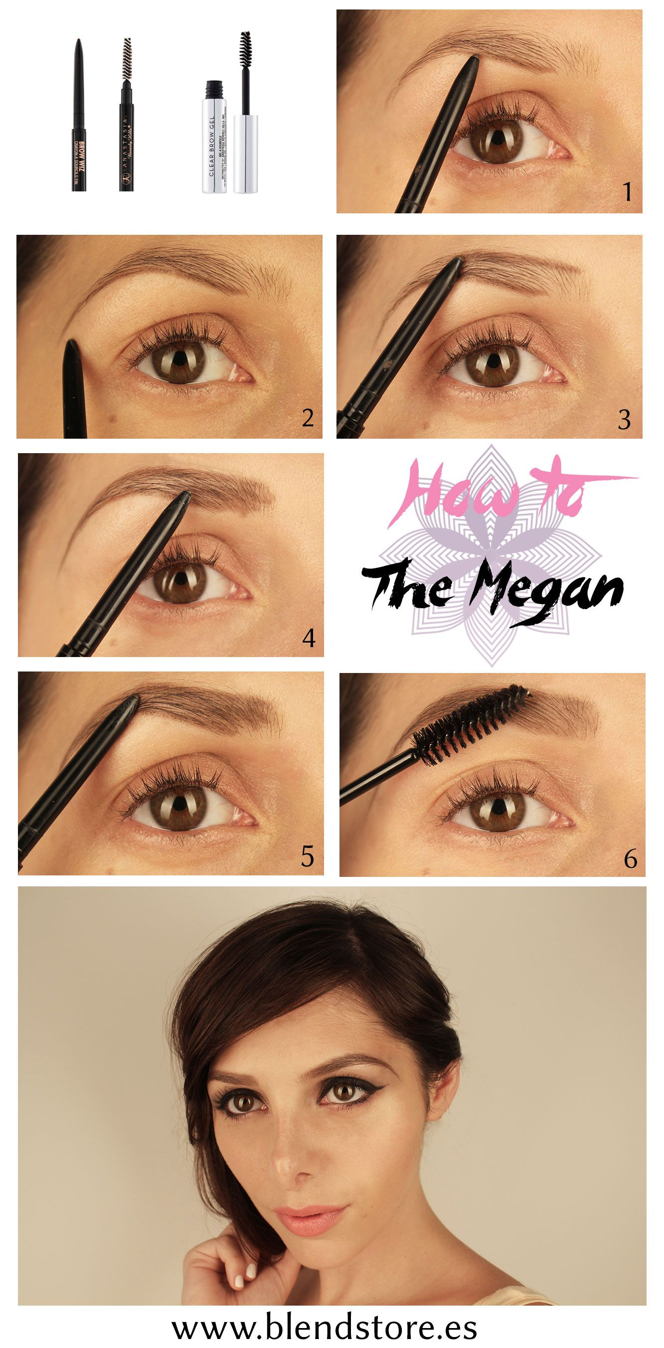 Blend store studio tutorial how to eye brows the megan fox with blend store studio tutorial how to eye brows the megan fox with anastasia beverly hills brow baditri Images