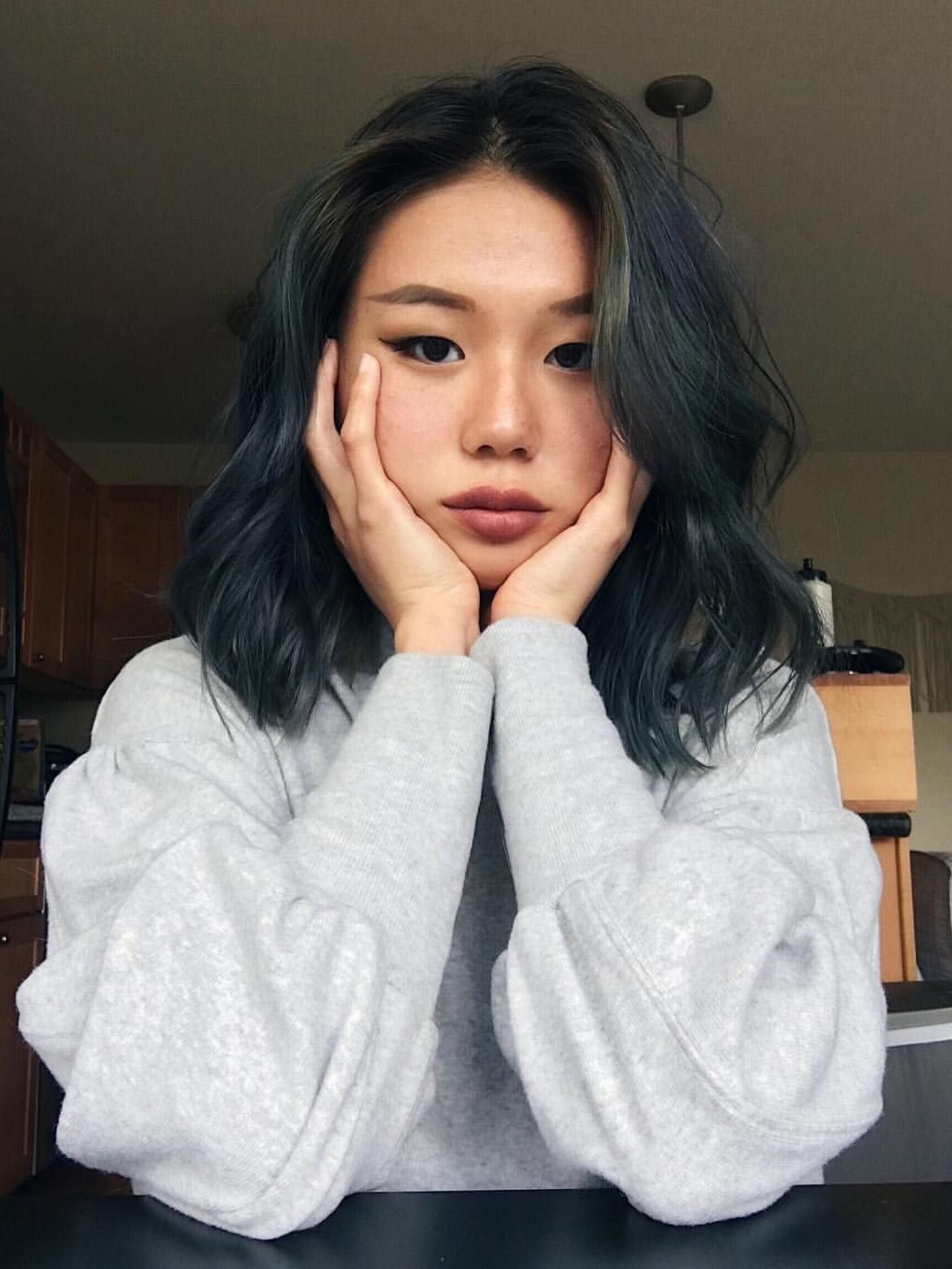 Hairrr In 2020 Asian Hair Dye Hair Color Asian Asian Short Hair