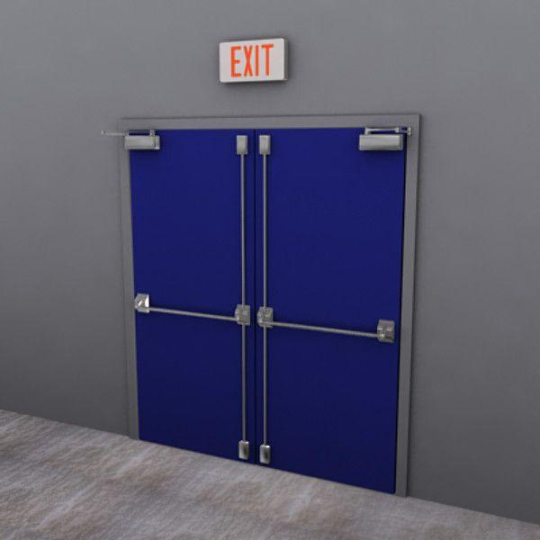 3Ds Max Door Factory - 3D Model & 3Ds Max Door Factory - 3D Model   3D-Modeling   Pinterest   Fire ...