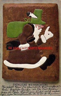 AK Weihnachten Lebkuchen-Weihnachtsmann 1905