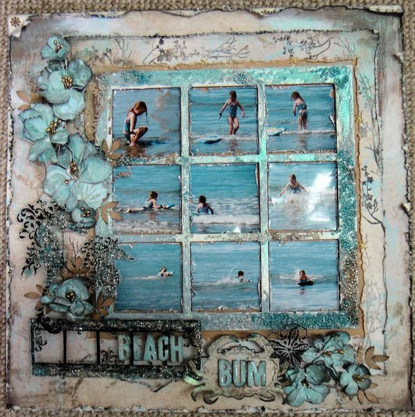 This Is A Pretty Awesome Scrapbook Page Sandra Pendle Cravey