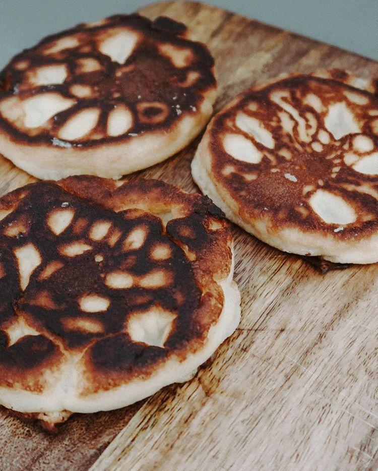 pannkakor med vaniljsocker